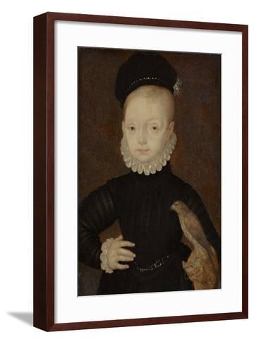 James VI and I (1566-162), King of Scotland, as Child, 1574-Arnold Bronckhorst-Framed Art Print