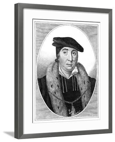 Sir Thomas Pope--Framed Art Print