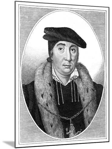 Sir Thomas Pope--Mounted Giclee Print