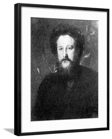 William Morris, Poet, Socialist, and Craftsman--Framed Art Print