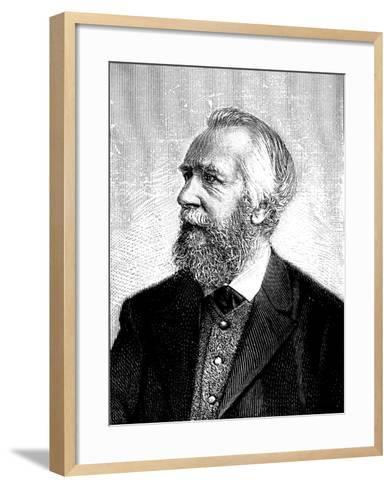 Ernst Haeckel (1834-191), German Zoologist and Evolutionist--Framed Art Print