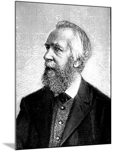 Ernst Haeckel (1834-191), German Zoologist and Evolutionist--Mounted Giclee Print