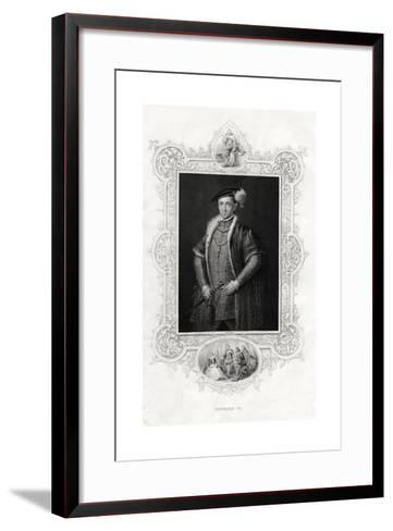 Edward VI, King of England and Ireland, 1860--Framed Art Print