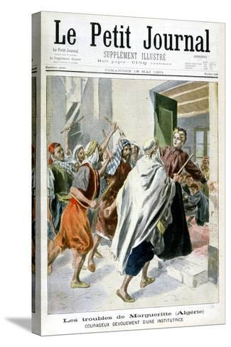 In Algeria, Margaret in Trouble, 1901--Stretched Canvas Print