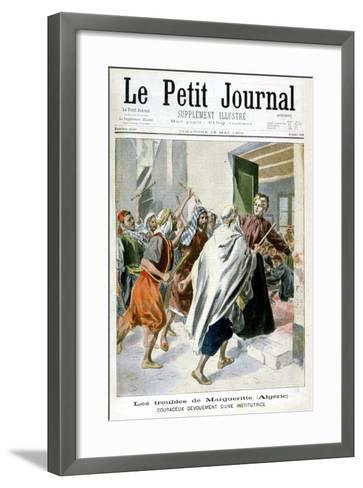 In Algeria, Margaret in Trouble, 1901--Framed Art Print