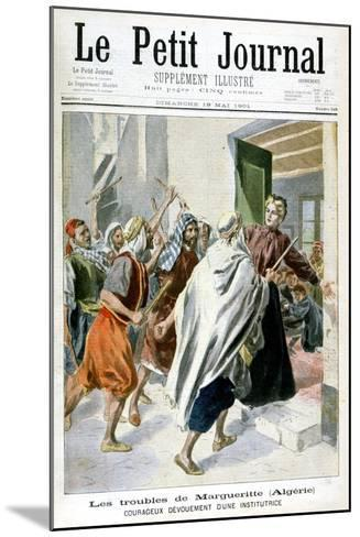 In Algeria, Margaret in Trouble, 1901--Mounted Giclee Print