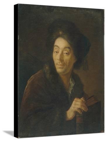 Portrait of the Actor Yakov Danilovich Shumsky (1732-181), 1760-Anton Pavlovich Losenko-Stretched Canvas Print