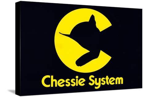 Chessie System--Stretched Canvas Print