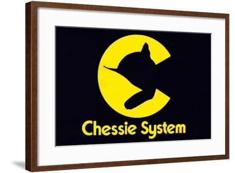 Chessie System--Framed Art Print