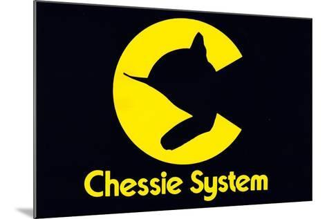 Chessie System--Mounted Giclee Print