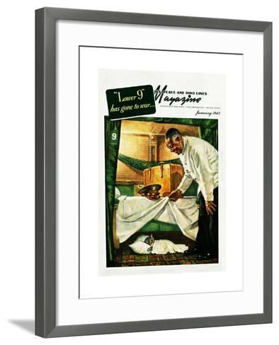 The Lower 9 Have Gone to War-Charles Bracker-Framed Art Print
