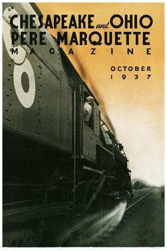 Pere Marquette--Stretched Canvas Print
