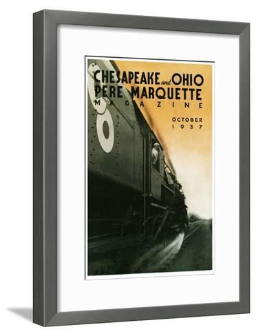 Pere Marquette--Framed Art Print