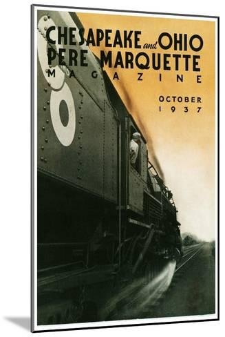Pere Marquette--Mounted Giclee Print