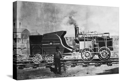 Seguin's Locomotive 1827--Stretched Canvas Print