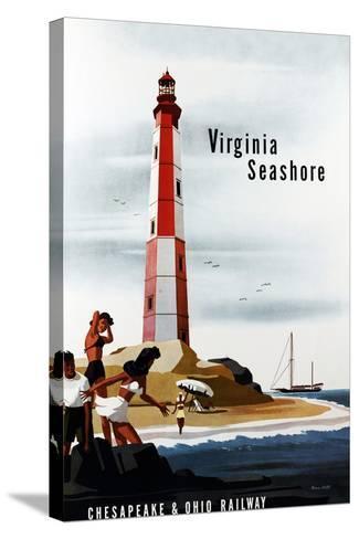 Virginia Seashore-Bern Hill-Stretched Canvas Print