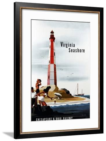 Virginia Seashore-Bern Hill-Framed Art Print