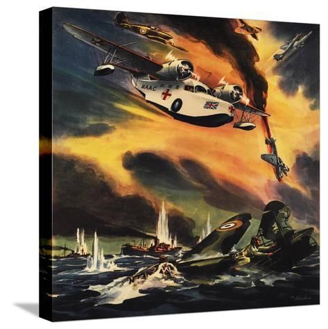 Send the Raf Ambulance Planes!--Stretched Canvas Print