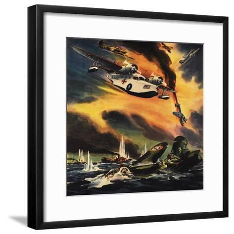 Send the Raf Ambulance Planes!--Framed Art Print