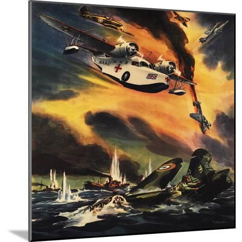 Send the Raf Ambulance Planes!--Mounted Giclee Print