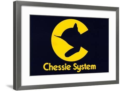 Chessie Systems Logo--Framed Art Print