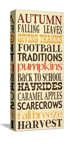 Autumn Harvest-Erin Deranja-Stretched Canvas Print