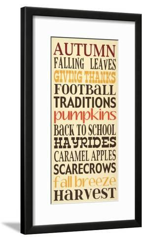 Autumn Harvest-Erin Deranja-Framed Art Print