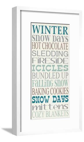 Winter-Erin Deranja-Framed Art Print