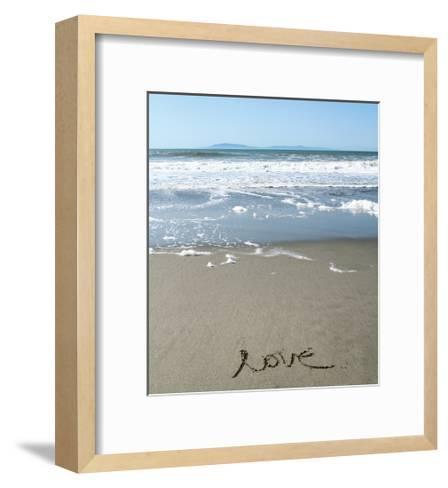 Pattern Stripe 1-Linda Woods-Framed Art Print