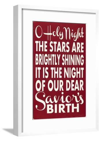 O Holy Night-Erin Deranja-Framed Art Print