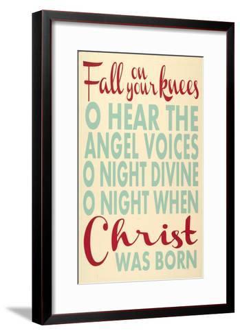 Fall on Your Knees-Erin Deranja-Framed Art Print