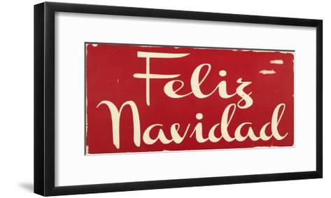 Feliz Navidad-Erin Deranja-Framed Art Print