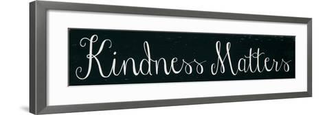 Kindness Matters-Erin Deranja-Framed Art Print