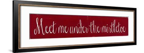 Mistletoe-Erin Deranja-Framed Art Print