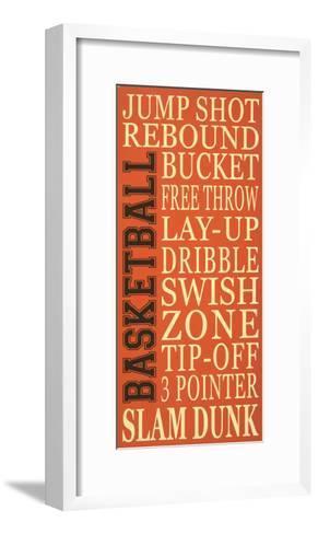 Basket-Ball-Erin Deranja-Framed Art Print