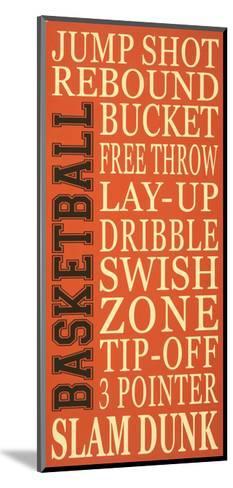 Basket-Ball-Erin Deranja-Mounted Art Print