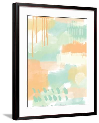Abstract II-Linda Woods-Framed Art Print
