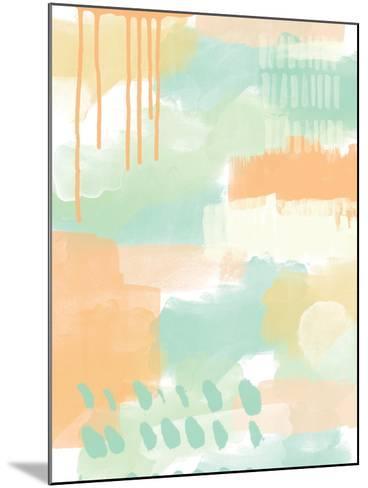 Abstract II-Linda Woods-Mounted Art Print