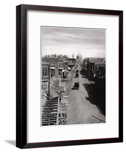 A Street in Baghdad, Iraq, 1925-A Kerim-Framed Art Print