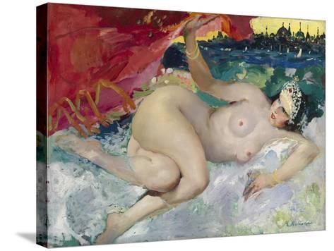 Danae-Filipp Andreyevich Malyavin-Stretched Canvas Print