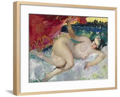 Danae-Filipp Andreyevich Malyavin-Framed Art Print