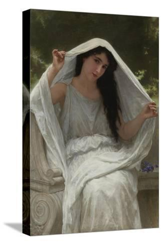 Veil-William-Adolphe Bouguereau-Stretched Canvas Print