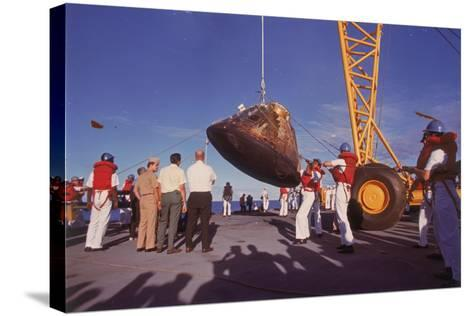 The Apollo 10 Command Module (Capsul), 26 May 1969--Stretched Canvas Print