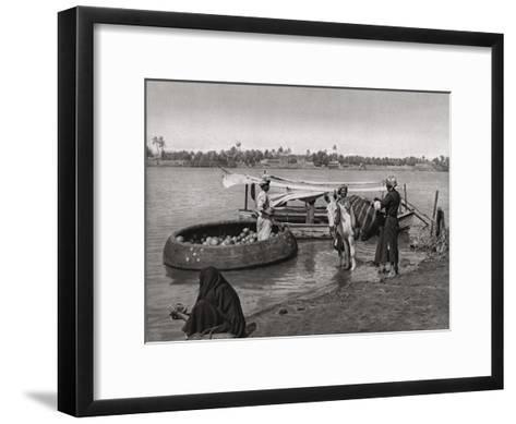 Transport in Iraq, 1925-A Kerim-Framed Art Print