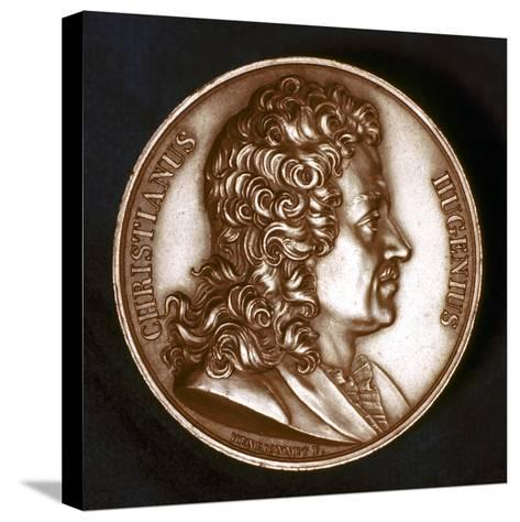 Christiaan Huyghens (1629-169), Dutch Physicist-F Henrionnet-Stretched Canvas Print