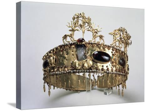 Diadem of a Priest, First Half of 1st Century Ad--Stretched Canvas Print