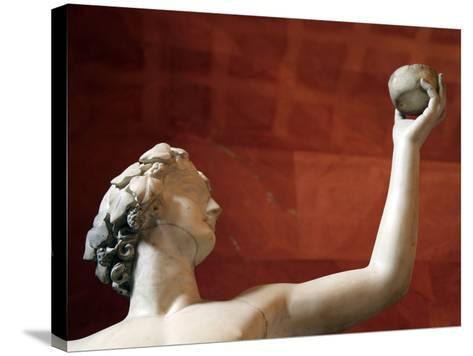 Statue of Dionysus, God of Wine and Patron of Wine Making--Stretched Canvas Print