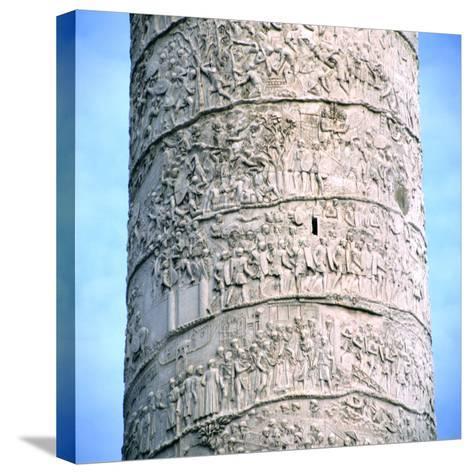 Trajan's Column, Rome, 106-113--Stretched Canvas Print