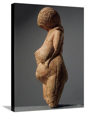 Female Figurine (Venus of Kostenk), 23,000-21,000 BC--Stretched Canvas Print