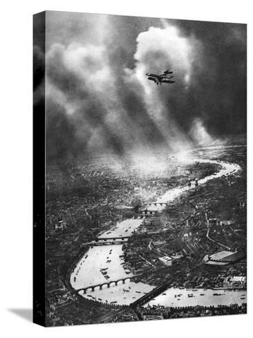 View of London, 1926-1927-Alfred G Buckham-Stretched Canvas Print
